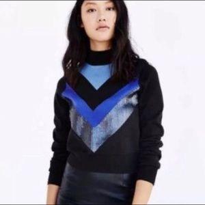 Alice + UO 80's Inspired Chevron Ski Sweater